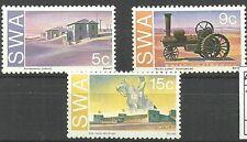 Südwestafrika - Gedenkstätten deutscher Kolonialzeit postfrisch 1975 Mi. 406-408