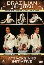 Brazilian Jiu-Jitsu Attacks And Initiative