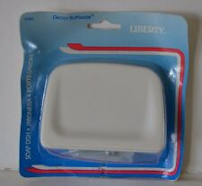 Decor Bathware Liberty Soap Dish  #D306 white metal--New in package