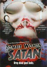Zombie Women of Satan (DVD, 2011)