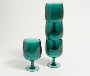 NESTING ACRYLIC WINE GLASSES