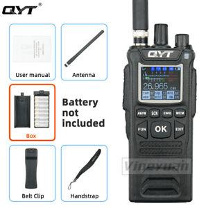 NEW QYT CB-58 Walkie Talkie 27MHz AM/FM CB Ham Radio Transceiver Handheld Radio