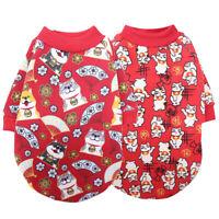 Classic Small Dog Clothes Pet Puppy Warm Vest Fleece Cat Apparel 2 Colors XS-XXL