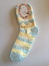 Women Winter Non-slip Fluffy LOUNGE BED SLIPPER SNUGGLE Home SOCKS Size 2-8 Bulk