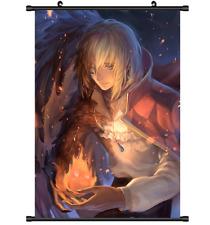 3601 Anime Howl no Ugoku Shiro Howl's Moving Castle Wall Poster Scroll cosplay