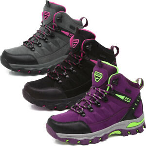 Women Hiking Boots Trail Work Boots Trainers Sneakers Outdoor Size UK 4 5 6 7