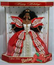 Barbie Happy Holidays 1997 Special Edition African-American 10th Anniversary