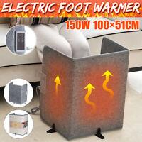 Portable Electric Heater Mini Leg Warmer 3 Folding Desk Home Office 150W a O