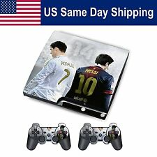 Sticker Modded Skin Decal for Playstation 3 SLIM Soccer Euro Cup Football Game