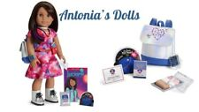 American Girl Luciana Vega Doll And Book WITH ACCESSORIES  BACKPACK WATCH