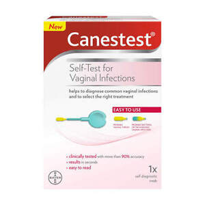 Canestest Self Test Easy Read For Vaginal Infections  **UK Pharmacy STOCK