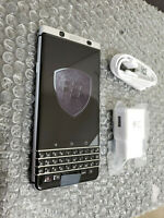 New BlackBerry KeyOne 32GB Silver Sprint / Ting Clean ESN BBB100-3 + More