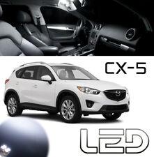 Mazda CX-5 CX5 Kit 7 ampoules LED Blanc éclairage Plafonnier Pare soleil Coffre