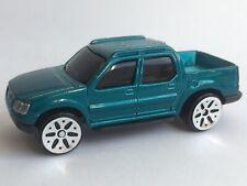 ❤️Vintage Maisto Ford Explorer Sport Trac Pick Up Van Truck Blue Car Toy 1:64 ❤️