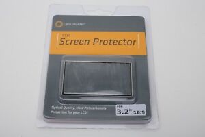 """Promaster Hard LCD Screen protector cover (model 8359) 3.2"""" / 16:9 cameras ++NEW"""