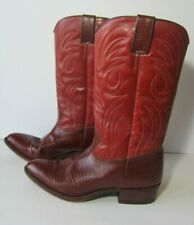 Tony Mora Womens Western Brown Boots Size 91/2 Made in Spain