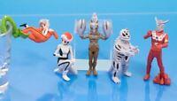 Bandai Ultraman Desktop Figure Gashapon Leo Seabozu Alien Baltan set 5 pcs