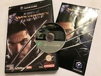 NINTENDO GAMECUBE GAME X-MEN 2 WOLVERINE'S REVENGE +BOX INSTRUCTION COMPLETE PAL