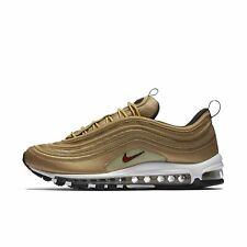 Nike Mens Air Max 97 OG QS 2018 Metallic Gold Bullet Varsity Red 884421-700 13US
