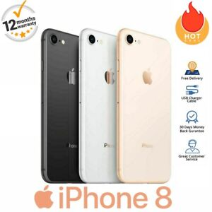 Cheap Apple iPhone 8 - 256GB - Gold/Grey/ Silver/Red - Unlocked - Various Grades