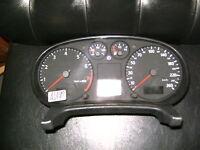 tacho kombiinstrument audi a3 8l0920900a cluster clock speedometer tachometer