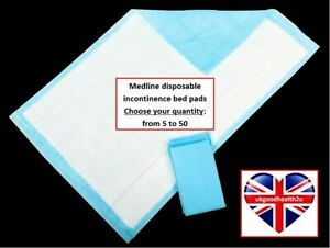 Medline Protection Plus Disposable Incontinence Bed Pads 60 x 90 CONVENIENT QTYS