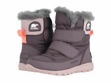 Sorel Kids Whitney Strap (Toddler/Little Kid) Waterproof Winter Boots - Purple
