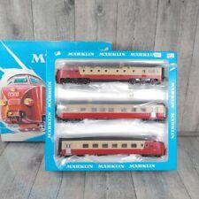 MÄRKLIN 3071 - H0 - TEE Trans Europ Express Triebwagenzug  - OVP - #M37266