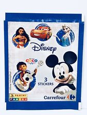 💎 Pochette DISNEY 3 STICKERS Images COLLECTION CARREFOUR  NEUF PANINI 2017 💖