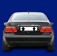 Chrom Kofferraumleiste Mercedes CLK A208 C208 EDELSTAHL