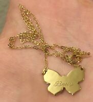 Gold Plated Necklace Betty Name Gold Plated Jewelry Fashion Style