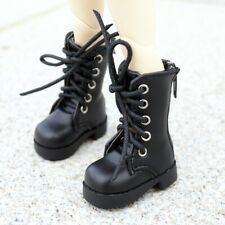 "BJD Short Boots Shoes Synthetic Leather For 1/6 11"" 27 BJD doll AOD YOSD DOD"
