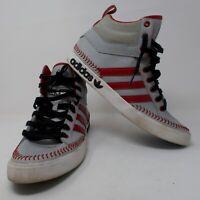 Adidas SHW 675001 Hi Top Sneakers Shoes Men's Size 10 Trefoil Baseball