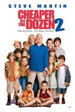 CHEAPER BY THE DOZEN 2 MOVIE POSTER SS ORIGINAL 27x40 STEVE MARTIN EUGENE LEVY