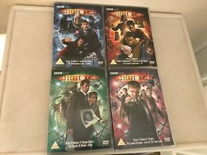 Dr Who DVDs, David Tennant  Series 3 Volumes 1-4