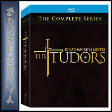 THE TUDORS- COMPLETE SERIES 1 2 3 & 4  **BRAND NEW BLU-RAY BOXSET **