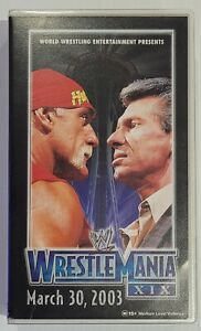 WWE WRESTLEMANIA XIX 2003 VHS. TESTED VGC FREE POSTAGE