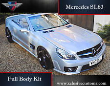 Mercedes SL63 AMG Full Body Kit for Mercedes SL R230 Non Wide