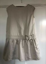Girls Taupe Tartine et Chocolat Dress 8A