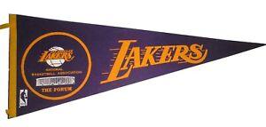 Los Angeles Lakers Vintage Forum Arena NBA Basketball Full Size Felt Pennant