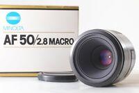 【Unused in box】MINOLTA AF MACRO 50mm F/2.8 for Sony Minolta by FedEx✈ From JAPAN
