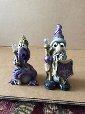 Wizard & Dragon Figures Numbed Set of 2