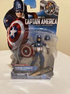 Hasbro Figure Marvel Avengers Captain America Super Combat Movie series