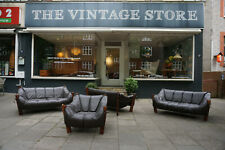 Vintage Percival Lafer Sofa Sessel Chair 70er 60er Couch Leder MP111 MP211