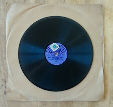"""""""Why I do love you ?"""" Harry Hudson Disque Radio ancien Petit 78 tours Gramophone"""