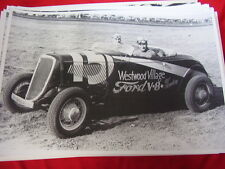 1934 FORD DIRT TRACK RACE CAR  12 X 18  LARGE PICTURE  PHOTO