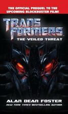 Transformers The Veiled Threat (Transformers (Ballantine Books)) by Alan De