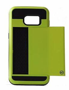 Samsung S7 Credit Card Pocket Case - Many Colors!