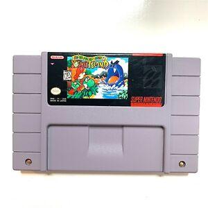 Super Mario World 2 Yoshi's Island - SNES Nintendo Game Tested & Authentic!