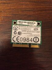 Broadcom BCM94312HMG 802.11 b/g PCI-E Half mini Wireless